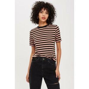 Topshop striped t-shirt NWOT